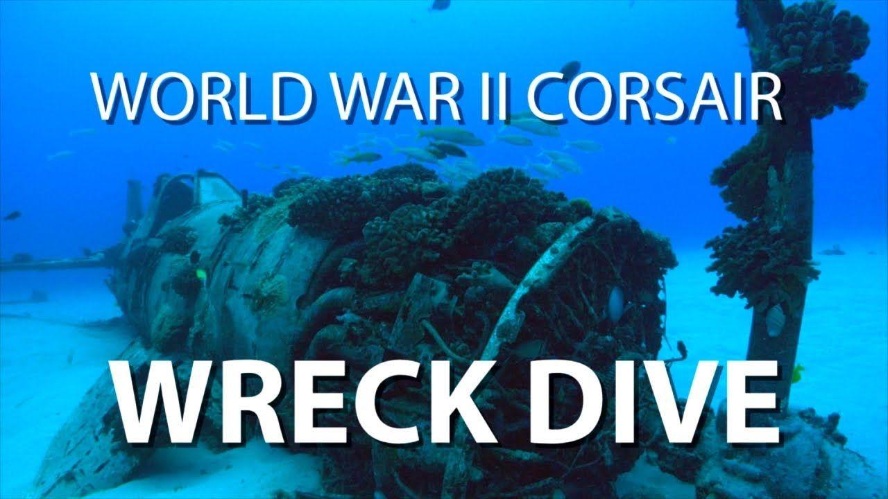 WWII Corsair Wreck Dive | UnderH2O | PBS Digital Studios