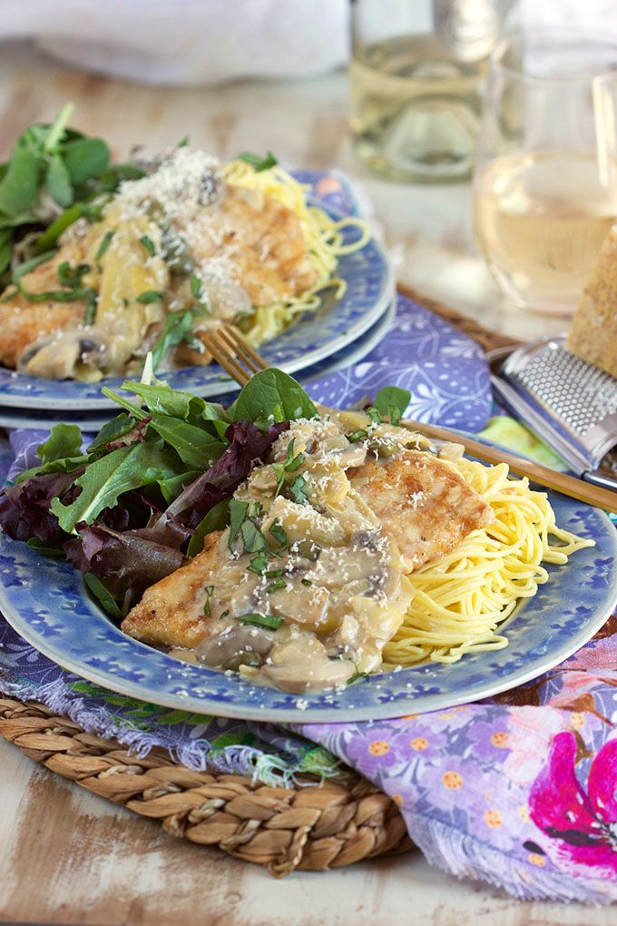 Creamy Chicken Piccata Recipe Creamy chicken piccata