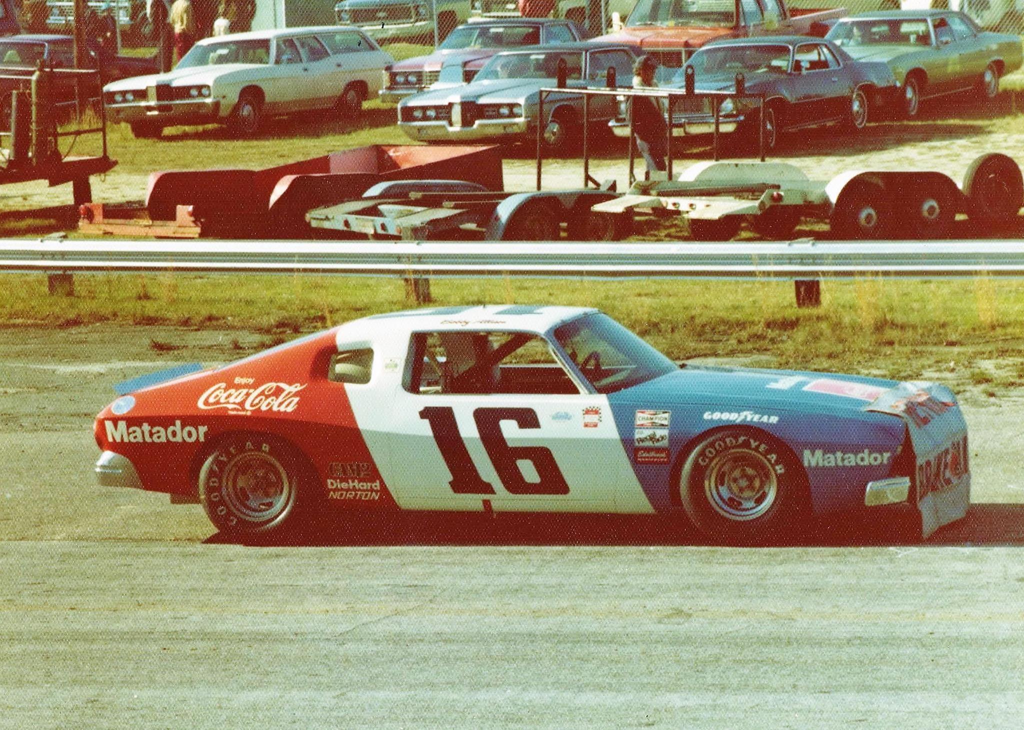 Bobby Allison PENSKE Matador Darlington 1975