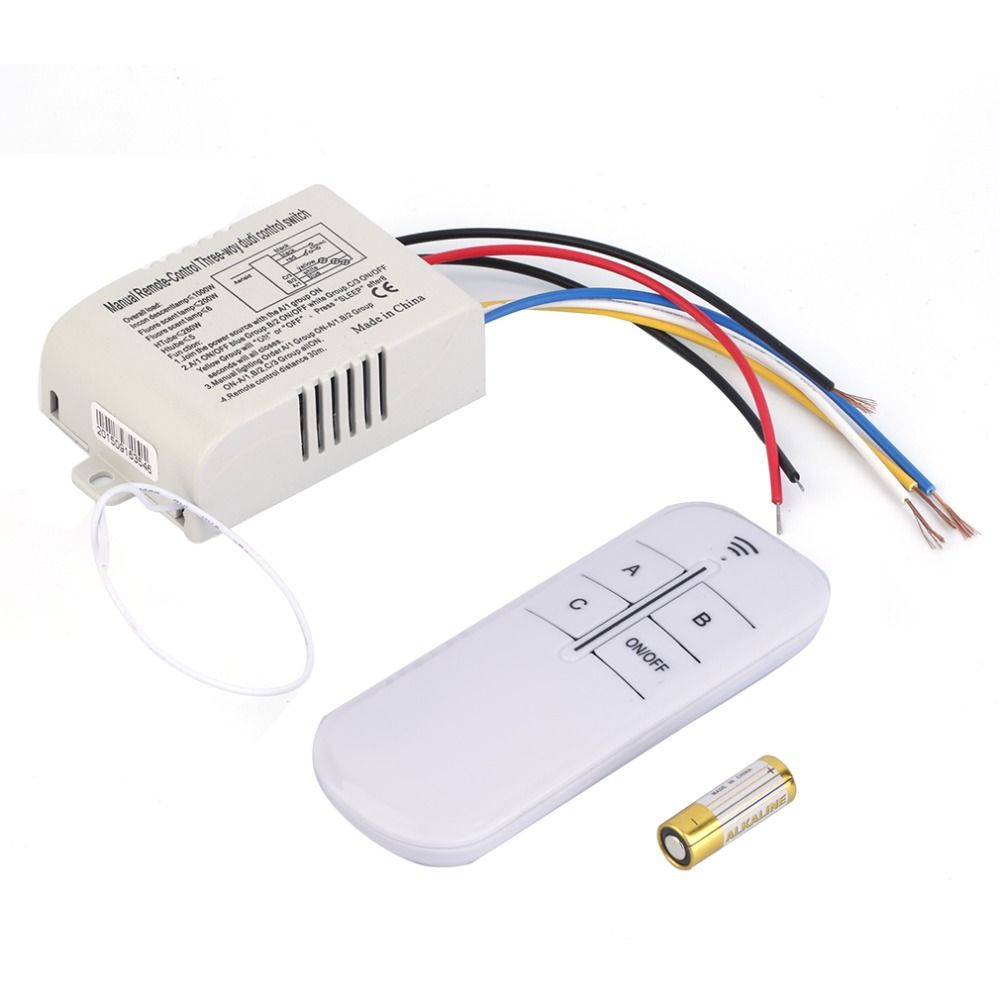 220v 3 Way On Off Digital Rf Remote Control Switch Wireless For Electronics Cheap Buy Quality Lamp Directly From China Suppliers