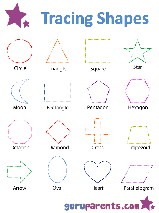 Worksheets Free Shape Worksheets printable kindergarten worksheets for preschool shapes and flashcards guruparents