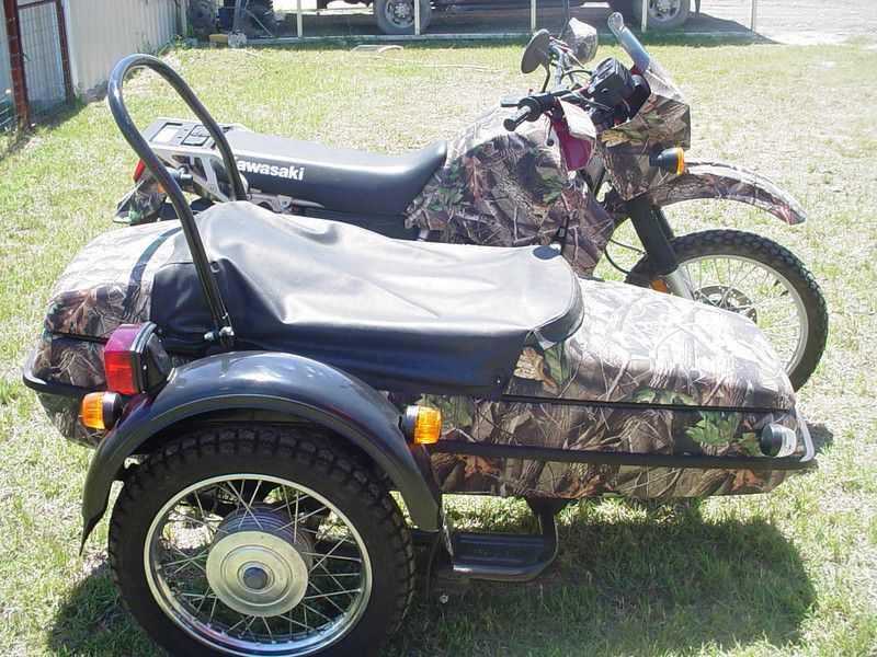 Camo KLR 650 with sidecar | Motorcycle | Pinterest | The o ...
