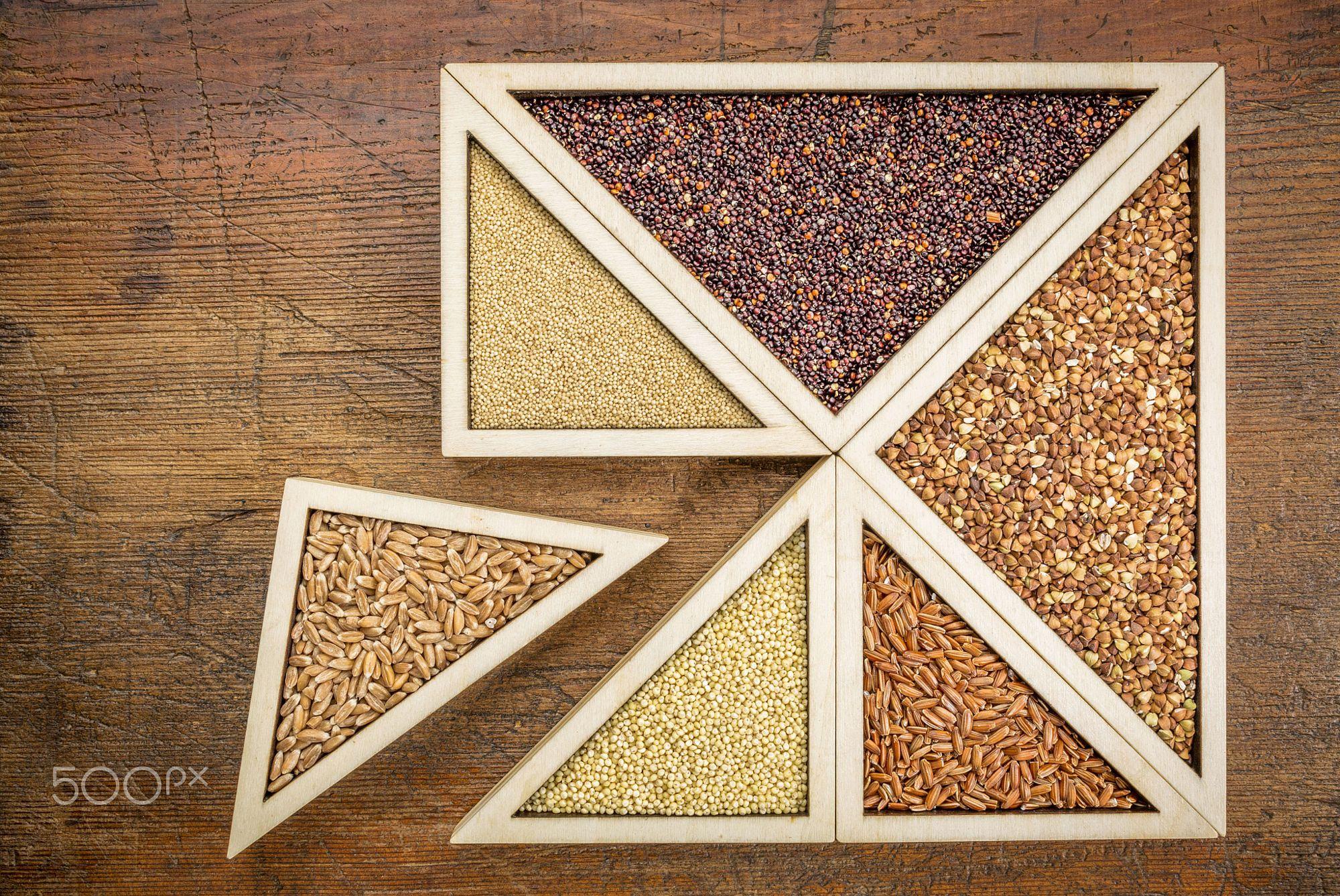 wheat and gluten free grains by Marek Uliasz on 500px