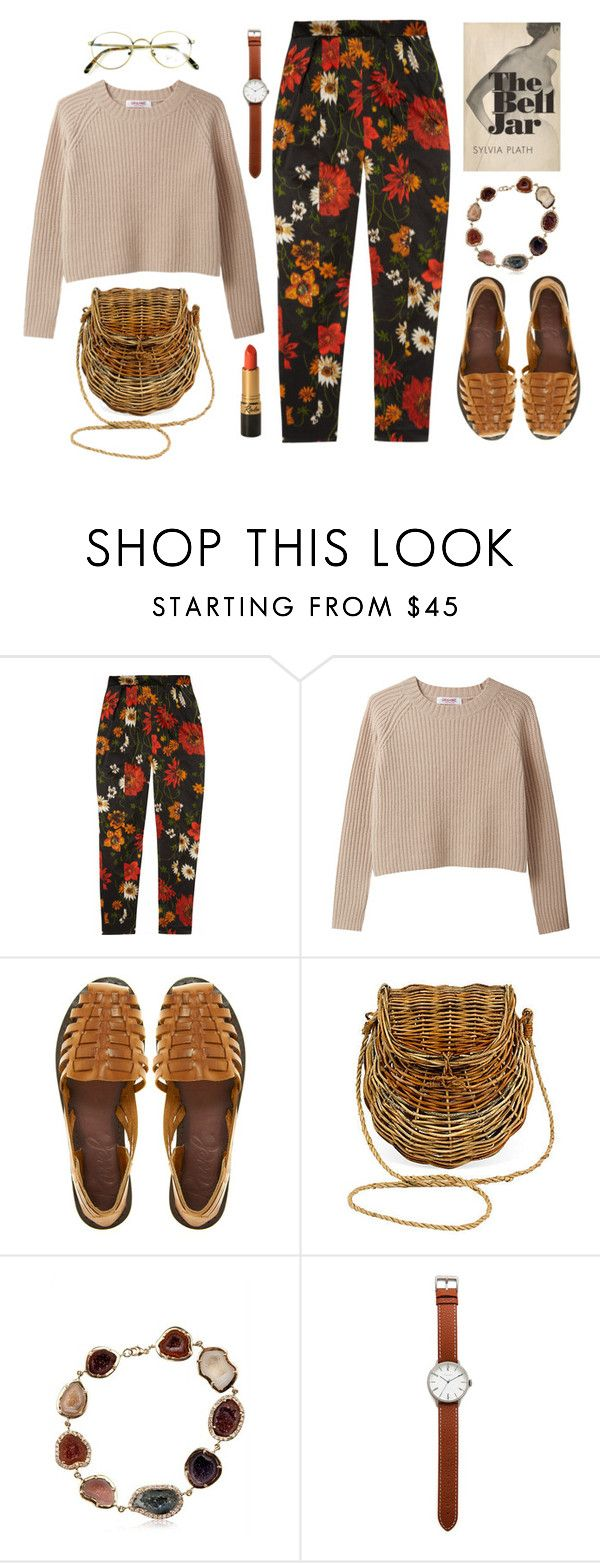 """cucurrucucu paloma"" by celluloid ❤ liked on Polyvore featuring Jil Sander, Ravel, Mainly Baskets, Kimberly McDonald, Tsovet, women's clothing, women, female, woman and misses"