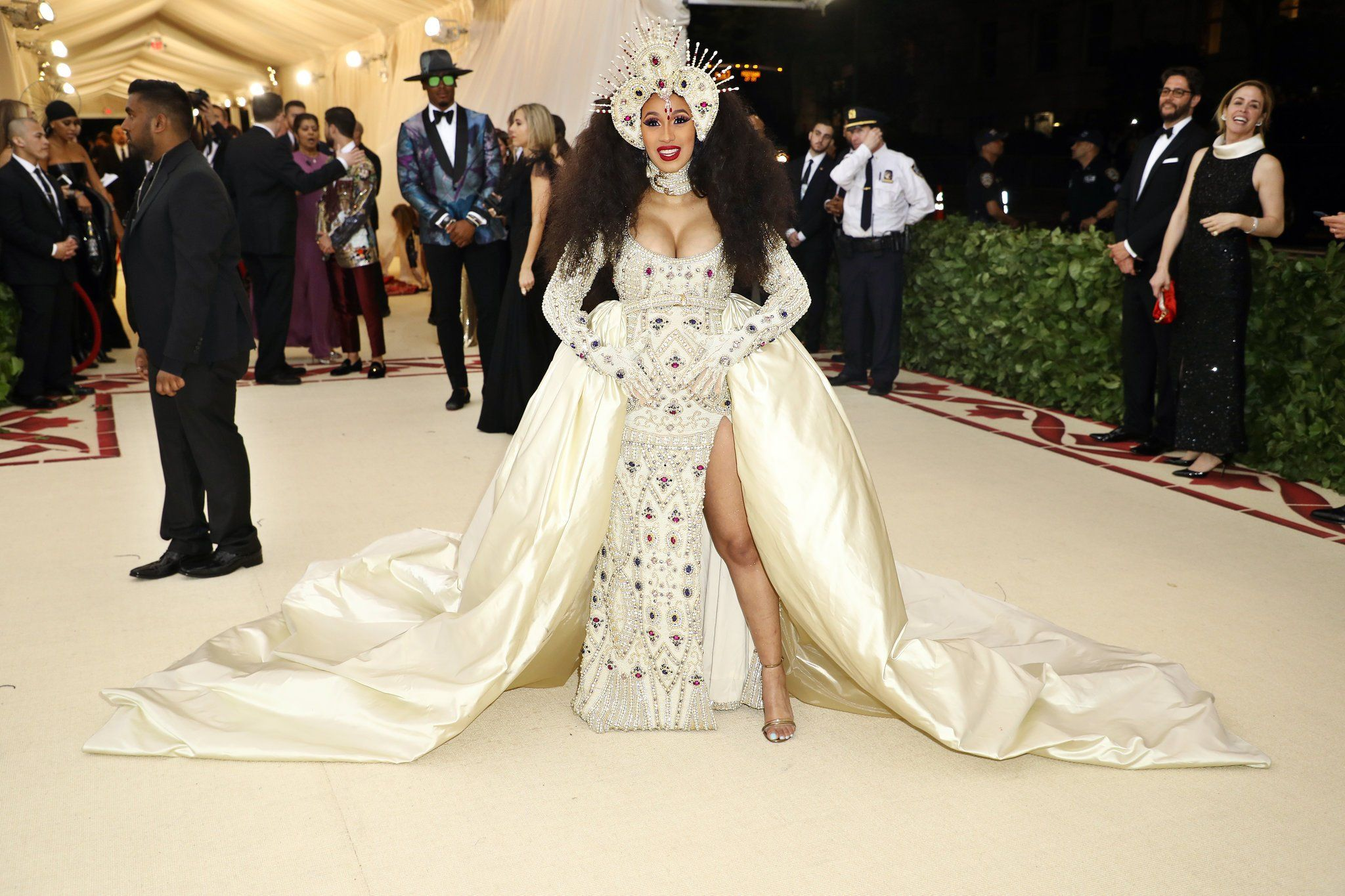 Met gala red carpet photos rihanna katy perry and madonna