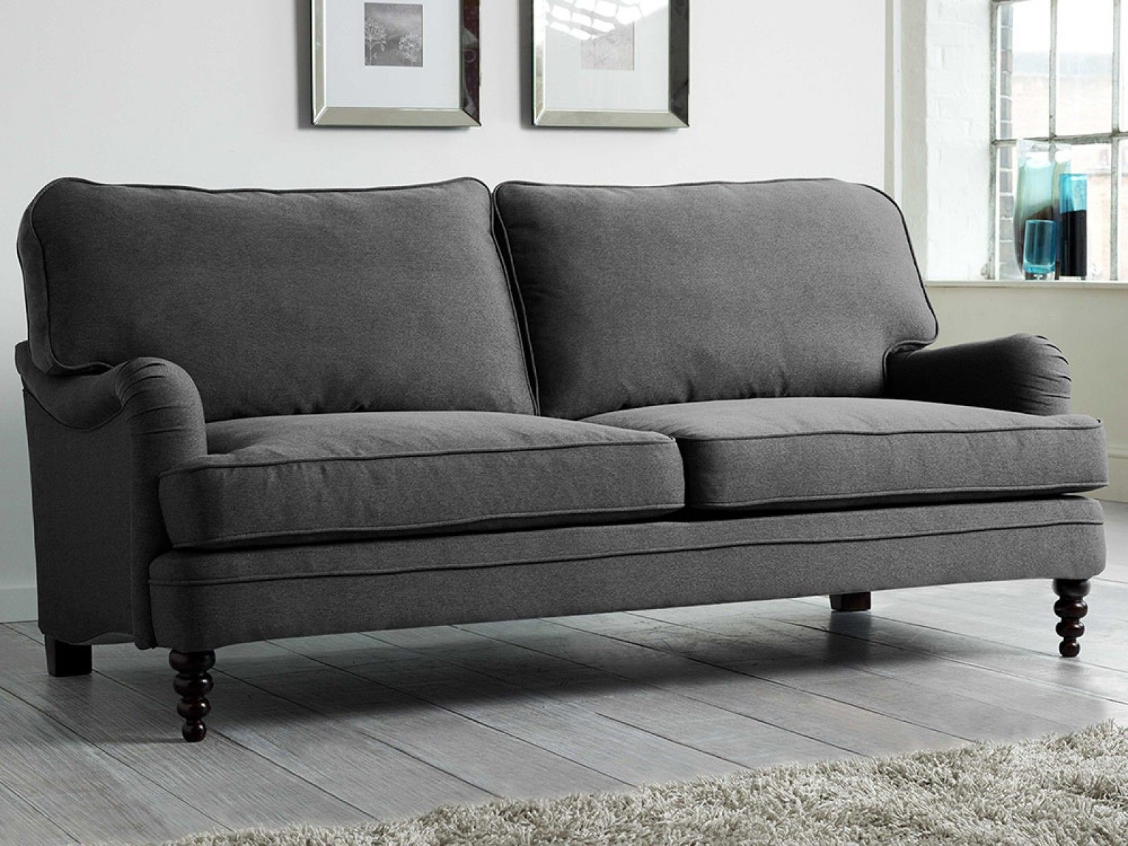 Lucille Sofa Upholstered Sofa Contemporary Bed Modern Bed