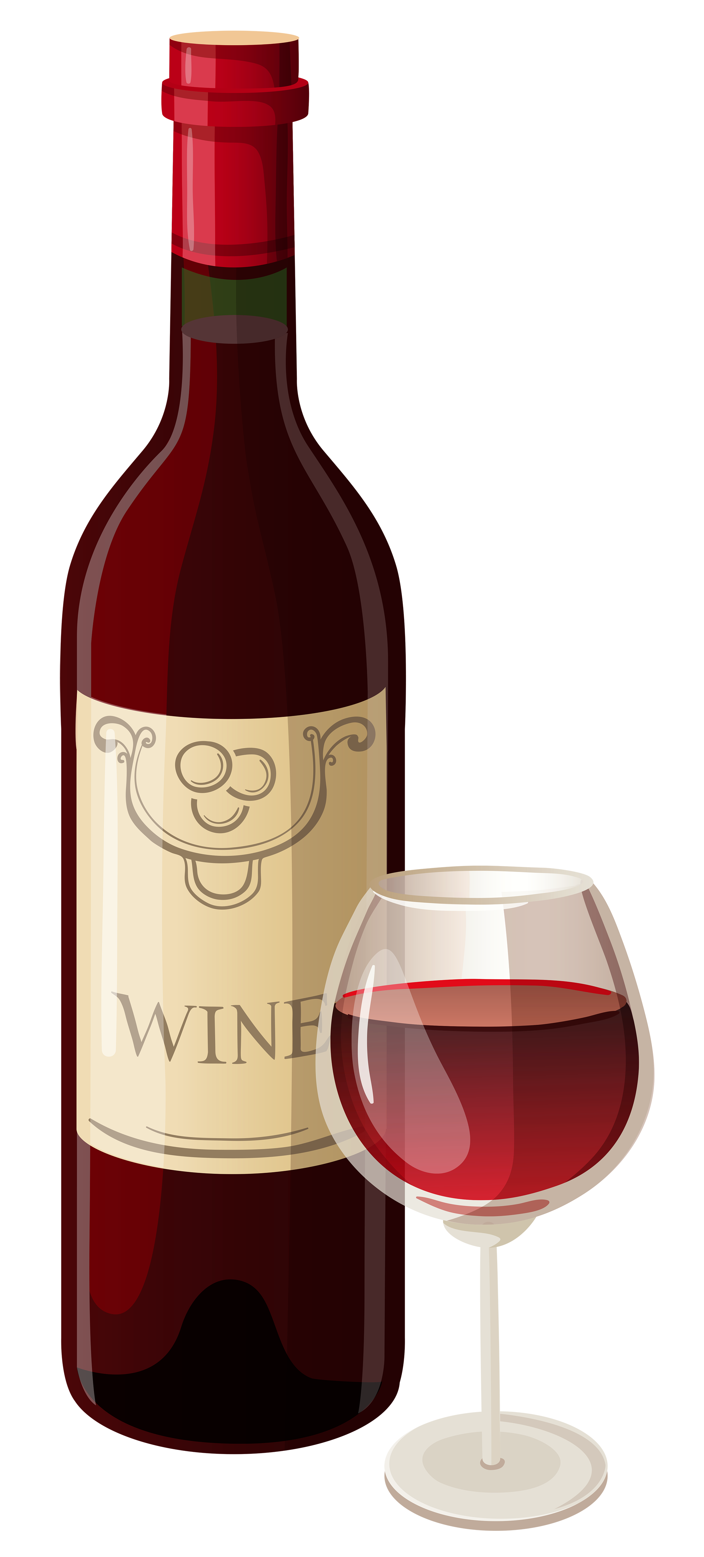 Wine Bottle And Glass Vector Clipart Wine Bottle Drawing Wine Glass Images Bottle Drawing