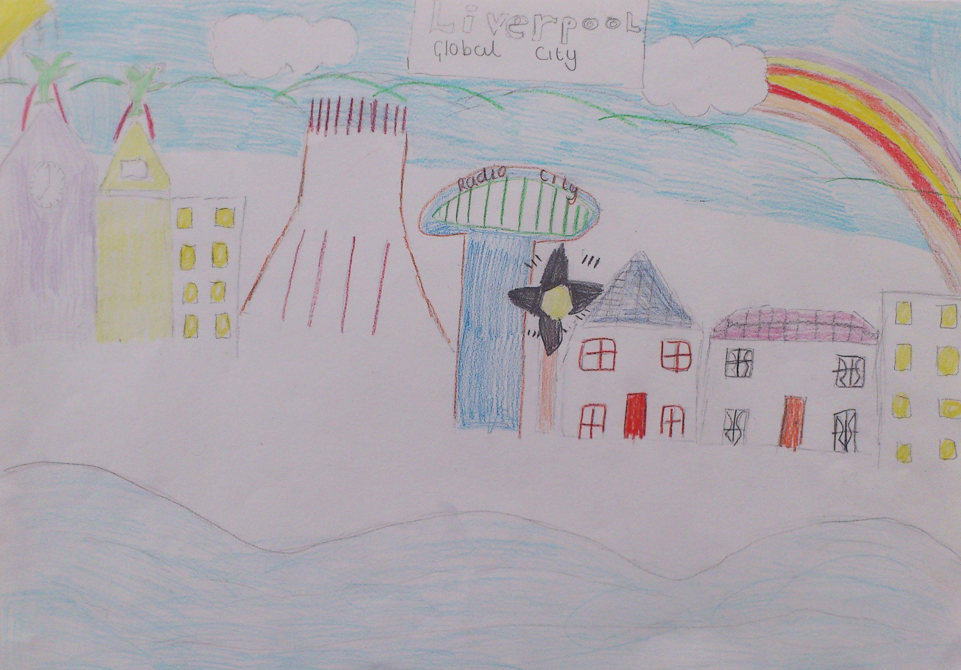 Line Drawing Ks2 : Sophie carroll ks stocktonwood looking outwards ifb mayoral art
