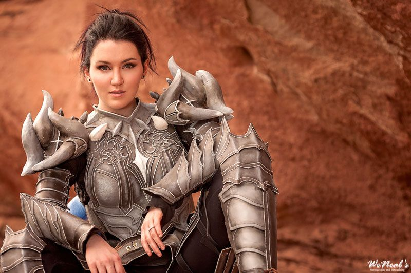 This Real Life Citadel of Flame Heavy Armor Set (Guild Wars 2) is