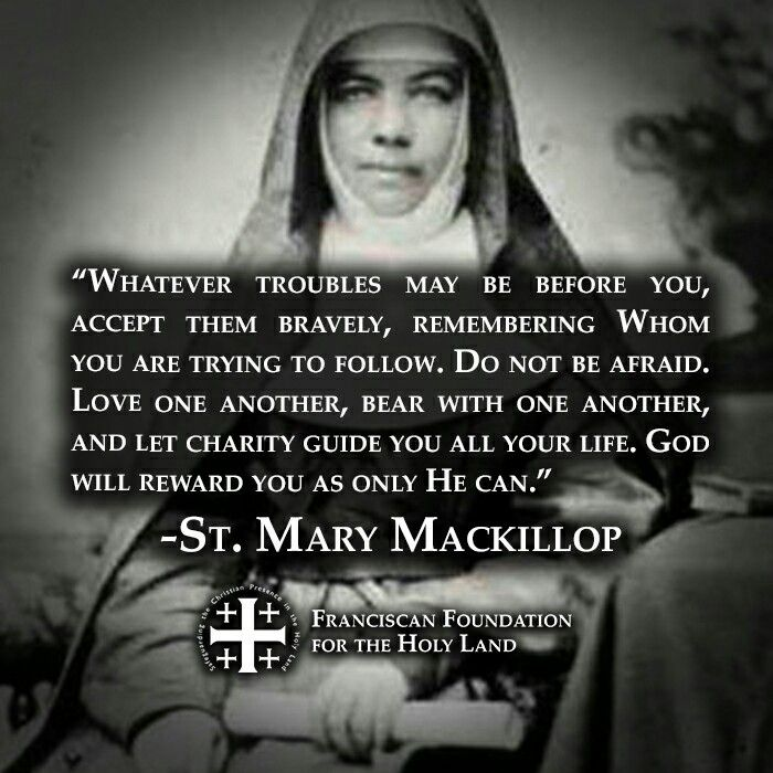 St. Mary Mackillop Saint quotes, Church quotes, Life quotes