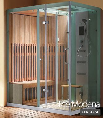 Steam Shower Sauna Combination Roma Home Improvement ideas