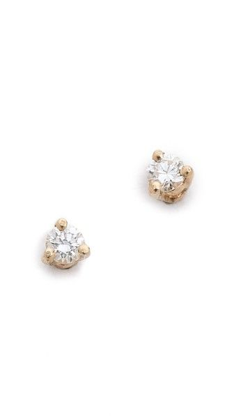 Costume Jewelry 275blanca Monros Gomez White Diamond Stud Earrings