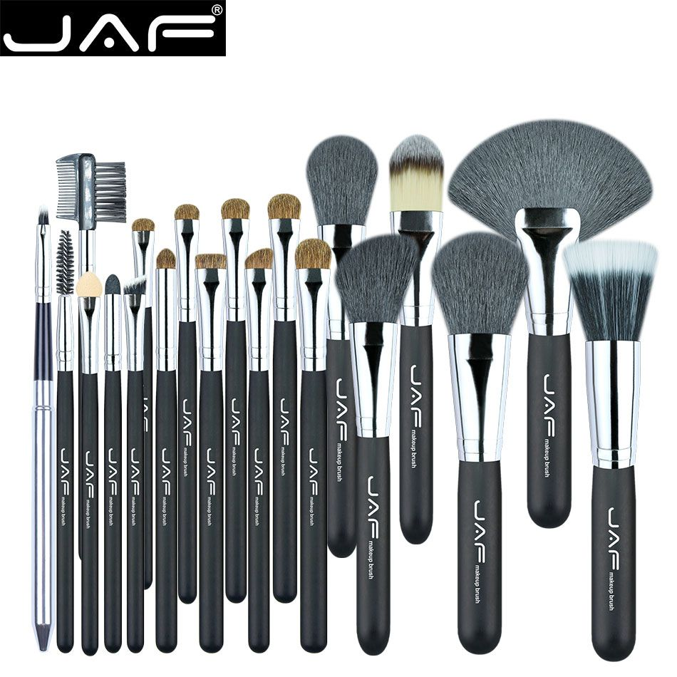 89ebc170b00 Cheap brush for, Buy Quality brushes for makeup directly from China 20 pcs  Suppliers: JAF 20 Pcs/Set Brushes for Makeup Natural Hair Makeup Brush Set  ...
