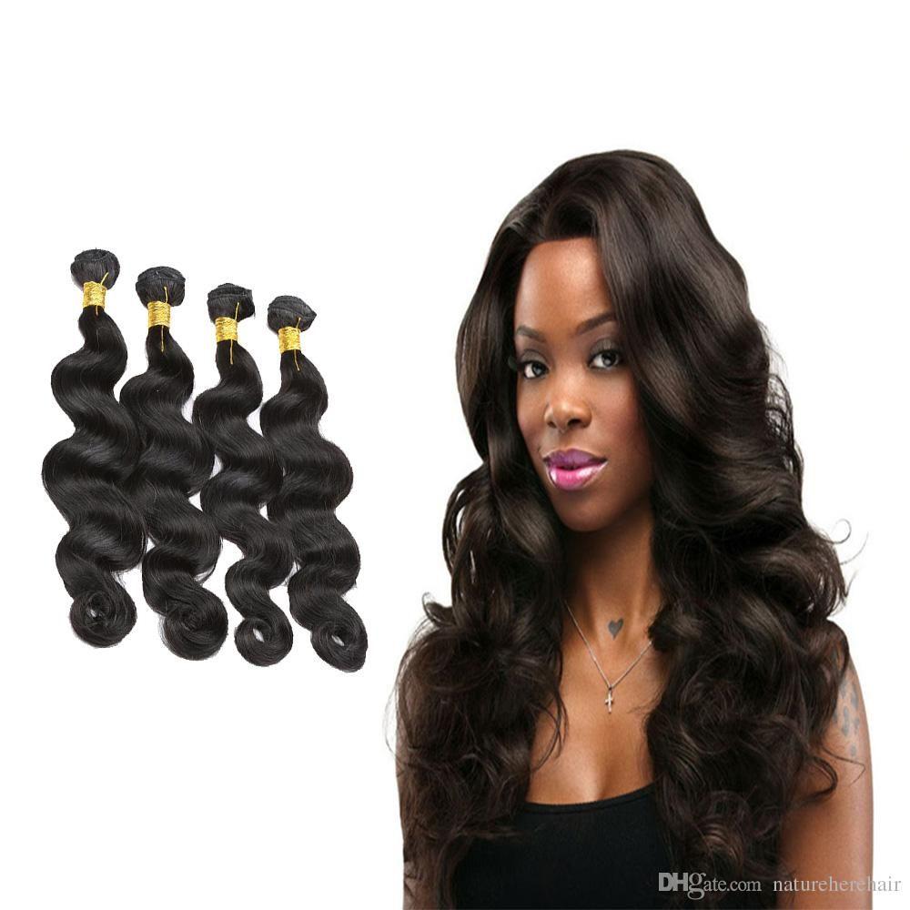 Best quality Malaysian Body Wave Hair Bundles  Human Hair Weave