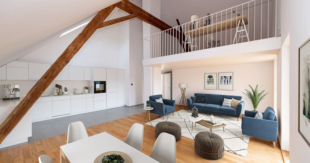 Wunderschone 2 5 Zimmer Galeriewohnung In Grosshochstetten Zu Vermieten Wohnung Galerie Wohnung 2 Zimmer Wohnung