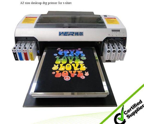 Best New design A3 size WER-E2000T digital t-shirt printer