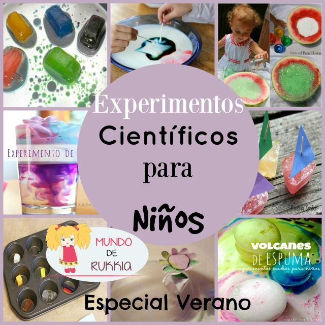 Experimentos Educativos Para Ninos
