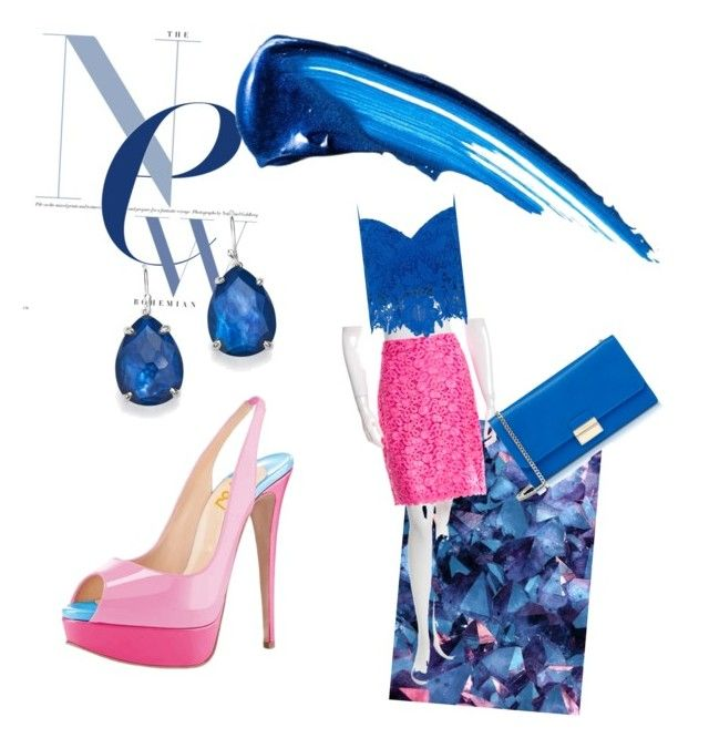 """""""Sea of pinks"""" by aasisterstouch on Polyvore featuring Kate Spade, Zibi London, Furla, Ippolita and Anastasia Beverly Hills"""
