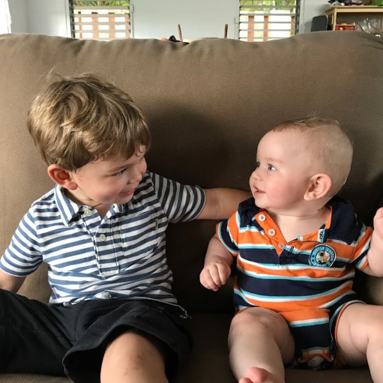 Two kids under two was never part of my plan. My husband, whose sister is a mere 14 months his senior, assured me having kids close together would be not only good planning (get those hard years ou…