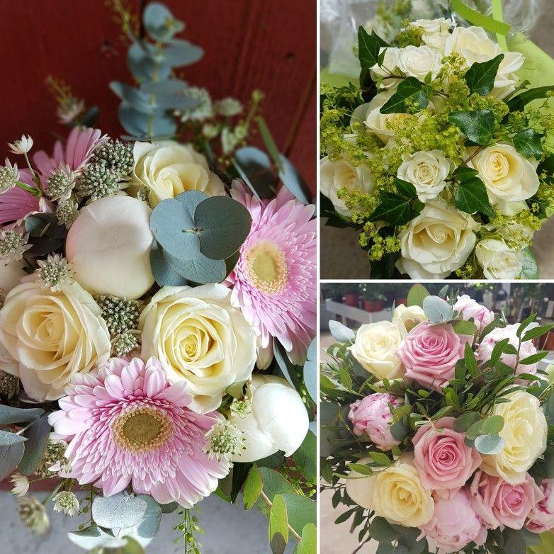 stort grattis till er Stort grattis till er tre brudpar som vi fixat blommor nu i helgen  stort grattis till er