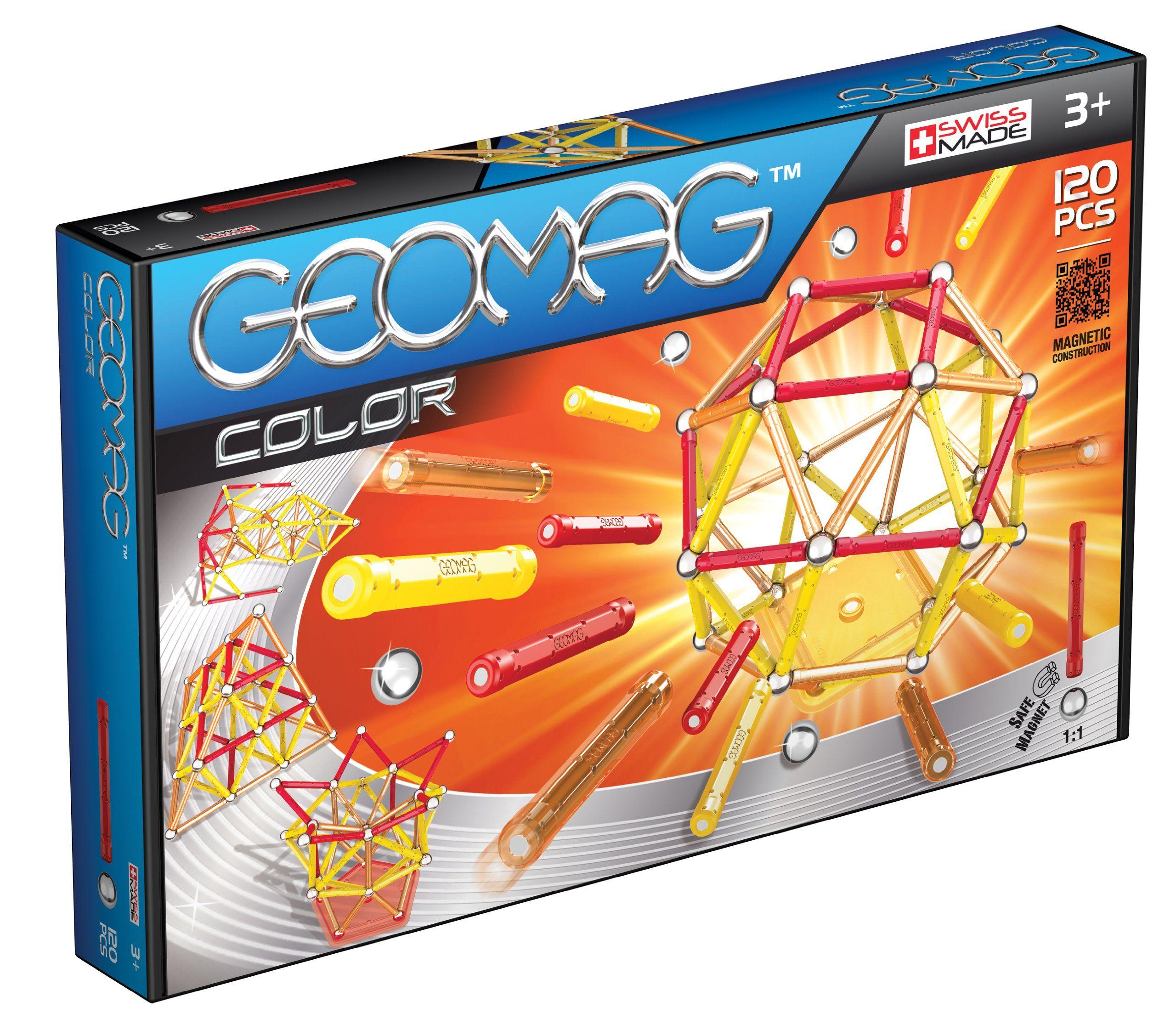 44-teilig Spielzeug Geomag Panels Glitter