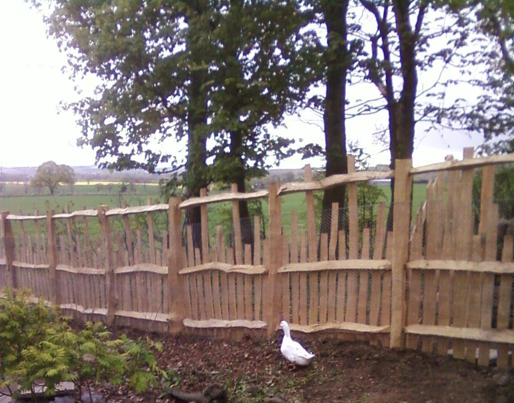 Fence To Keep Chickens Out Of Veggie Garden
