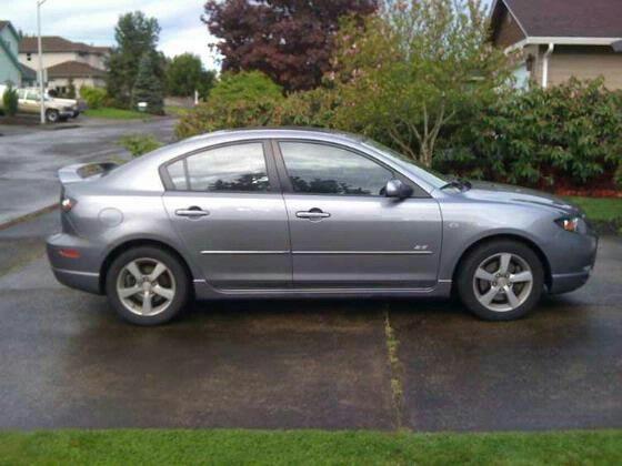 2005 Mazda 3 In Grey Mazda 3 Sedan Mazda 3 Mazda