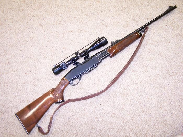 Remington 760 I am so glad my dad introduced me to this and