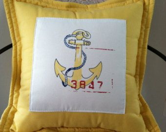 Ralph Lauren Nautical Anchor&Flags INDOOR OUTDOOR Pillow (cover)