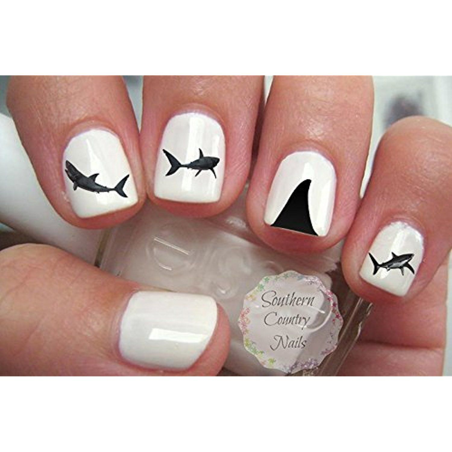 Shark Nail Art Decals *** Click image to review more details. (This ...