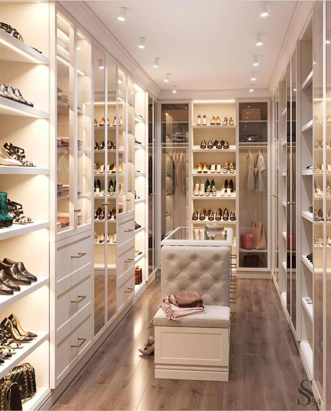"""Lighting Ideas For Your Closet Lighting Ideas For You: Ashley Stark Kenner On Instagram: """"When Your Closet Just"""