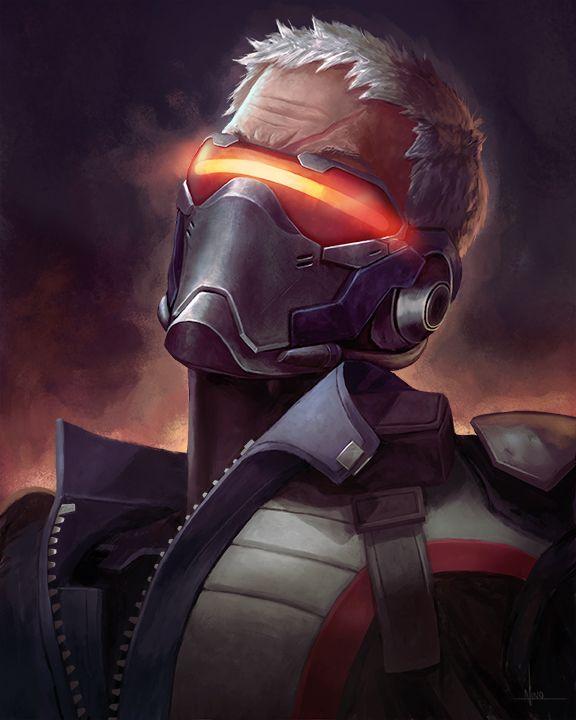 J Nx Fan Art Friday Soldier 76 Soldier 76 Overwatch Overwatch Wallpapers