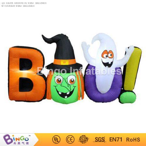 BAO! halloween inflatable letter,inflatable witch head for halloween - halloween inflatable decorations