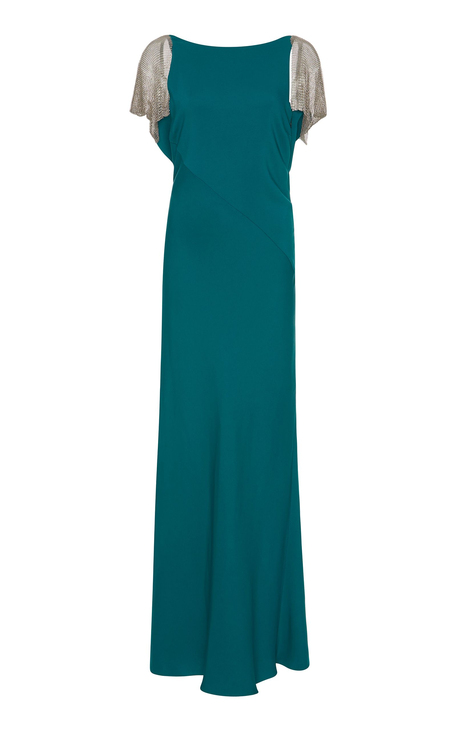 Chain mail sleeve evening gown by Lanvin | Playing Dress-Up ...