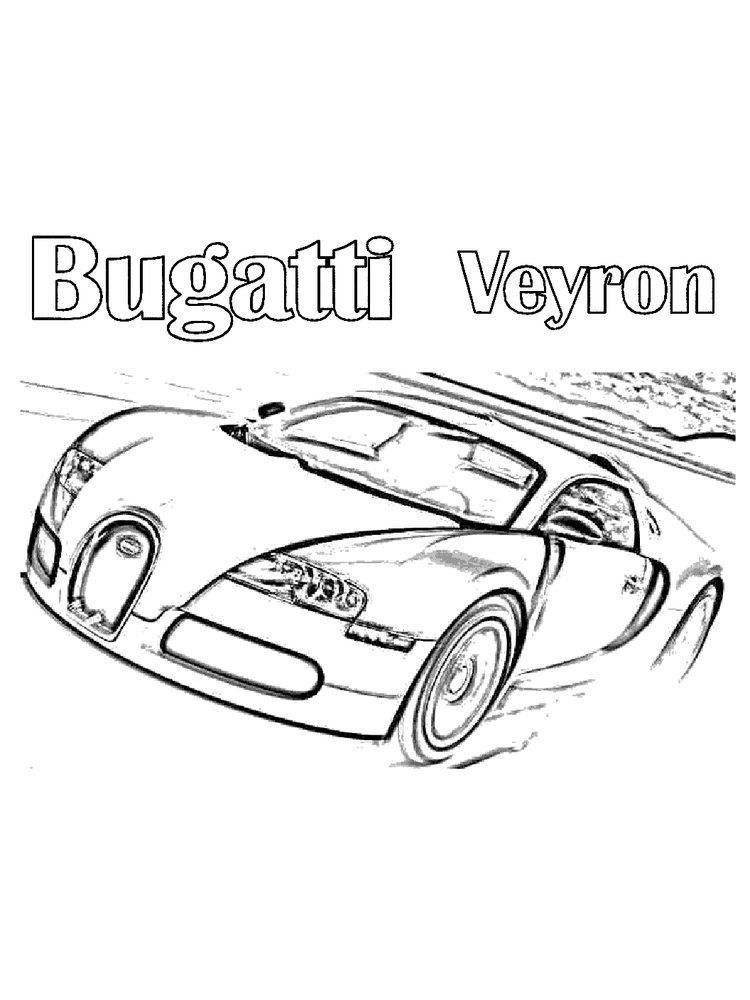 Coloring Pages Sports Cars Bugatti Car Coloring Pages Free In 2020 Cars Coloring Pages Coloring Pages Race Car Coloring Pages