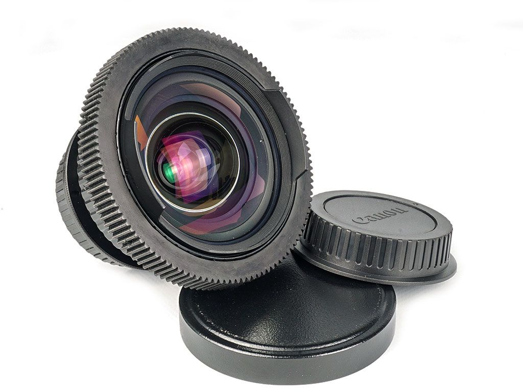 20 Mm F3 5 Mir 20 Canon Ef Mount Lens Standard Without Painting Oval Diaphragm Body Black Focus Gear Plastic