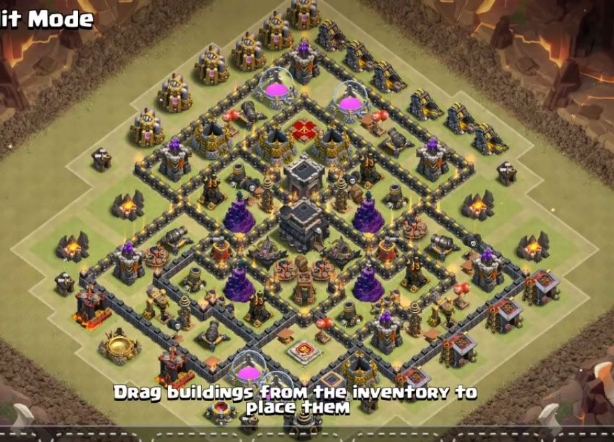18 Best Th9 Base 2019 Cash Of Clan Bases Cocbases Com Clash