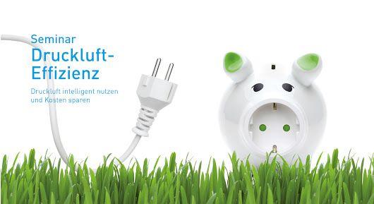 Energieeffizient und nachhaltig durch die Welt der Druckluft.