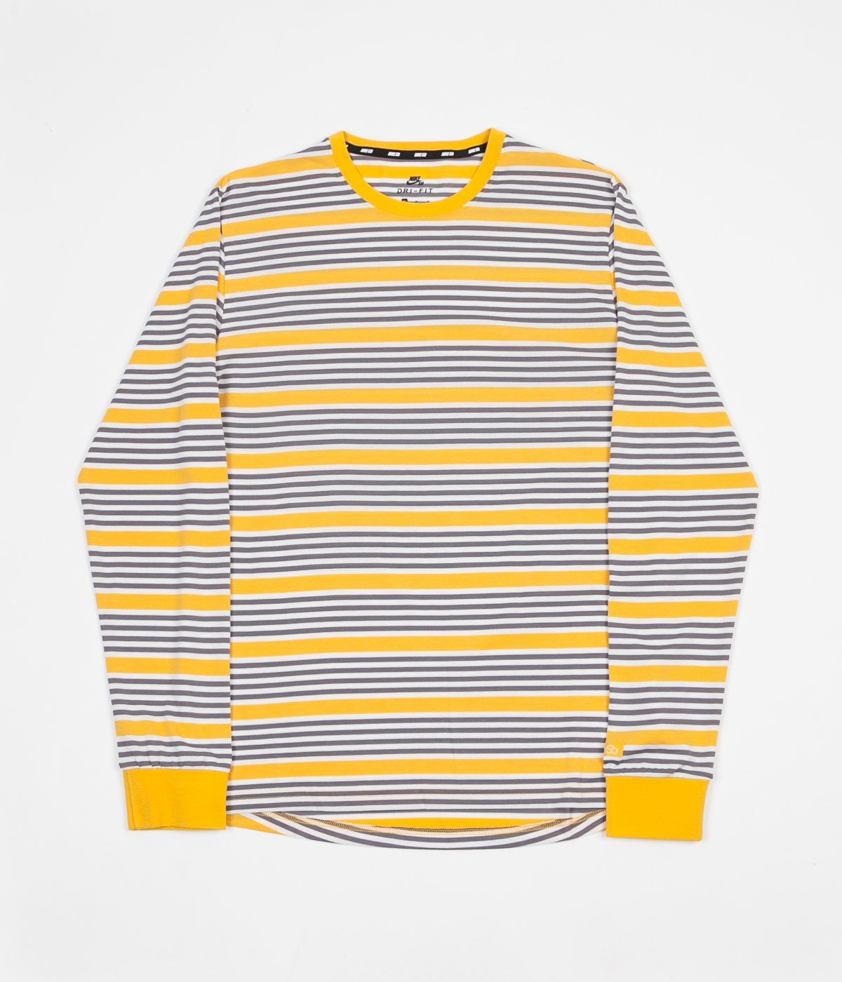 Nike SB Stripe Long Sleeve T-Shirt - Yellow Ochre   Yellow Ochre ... 3a0884808