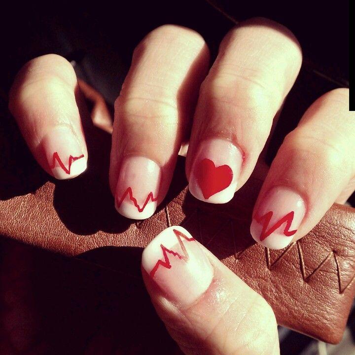 Nail Ideas For Graduation: Best 25+ Nurse Nails Ideas On Pinterest