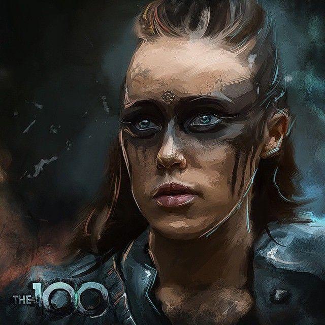 The 100 Fanart Appreciation! — clexa-fanart:   Commander Lexa by bogdan_kurenya Support the artist on: instagram / vk.