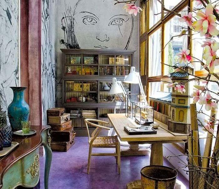▷ 1001 + ideas de salones modernos decorados en estilo bohemio ...