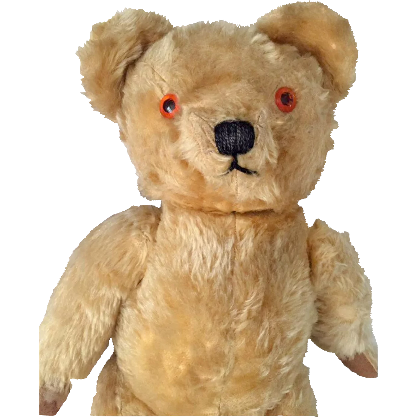 Chad Valley Teddy Bear British Vintage Toys Found At Www Rubylane Com Thedollworldshome Dolls Vintage Mohair Teddy Bear Vintage Teddy Bears Teddy Bear