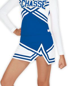 7b02a647 Chasse Double Knit Crossover Cheerleading Uniform | Cheerleading ...