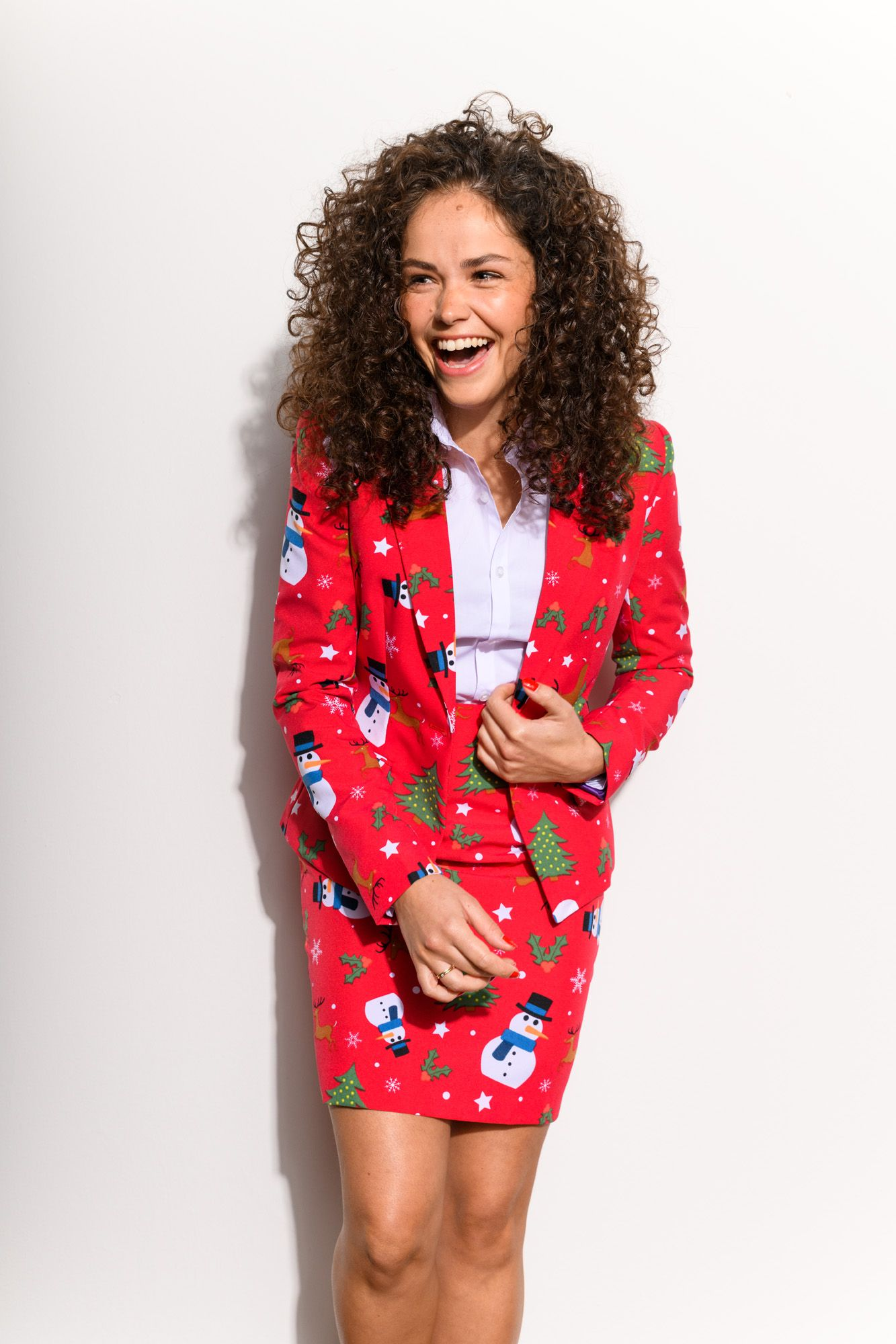 Womens Ms Rudolph Party Suit by OppoSuits Size 10 Christmas Oppo Suits NEW