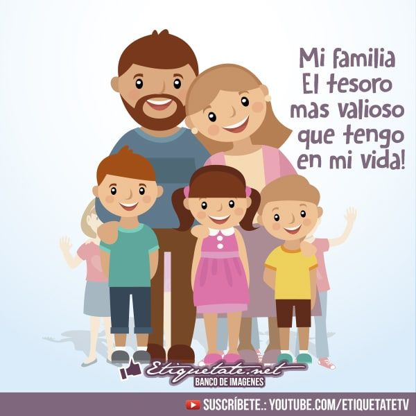 Nuevas Imagenes Frases Para La Familia Etiquetate Net Banco De Imagenes Familia Feliz Dibujo Imagenes De Familia Familia Feliz