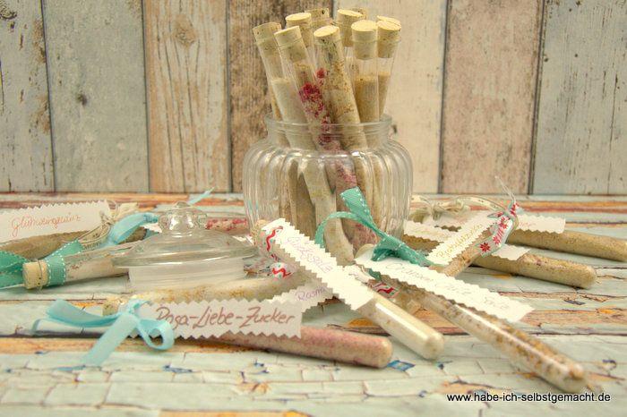 Kleine Gewürze verschenken- Kleine Geschenke aus der Küche - kleine geschenke aus der küche
