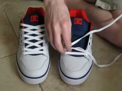 No Bow   Shoe laces, Ways to lace shoes