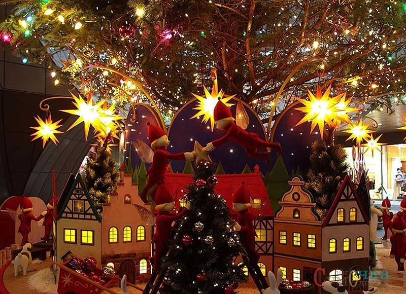 Картинки н рождество, дороги