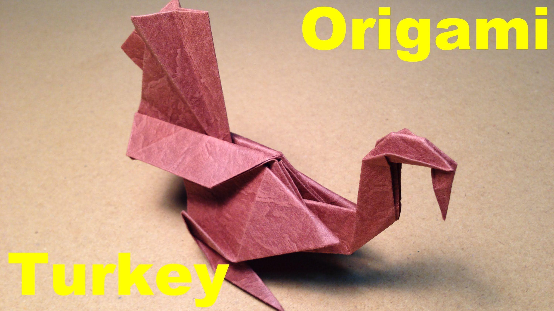Origami Turkey - Folding Instructions • Art Platter | 1687x3000